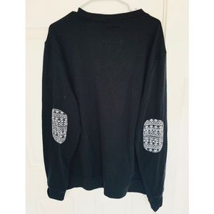 American Exchange Sweaters - Patterned Crew Neck